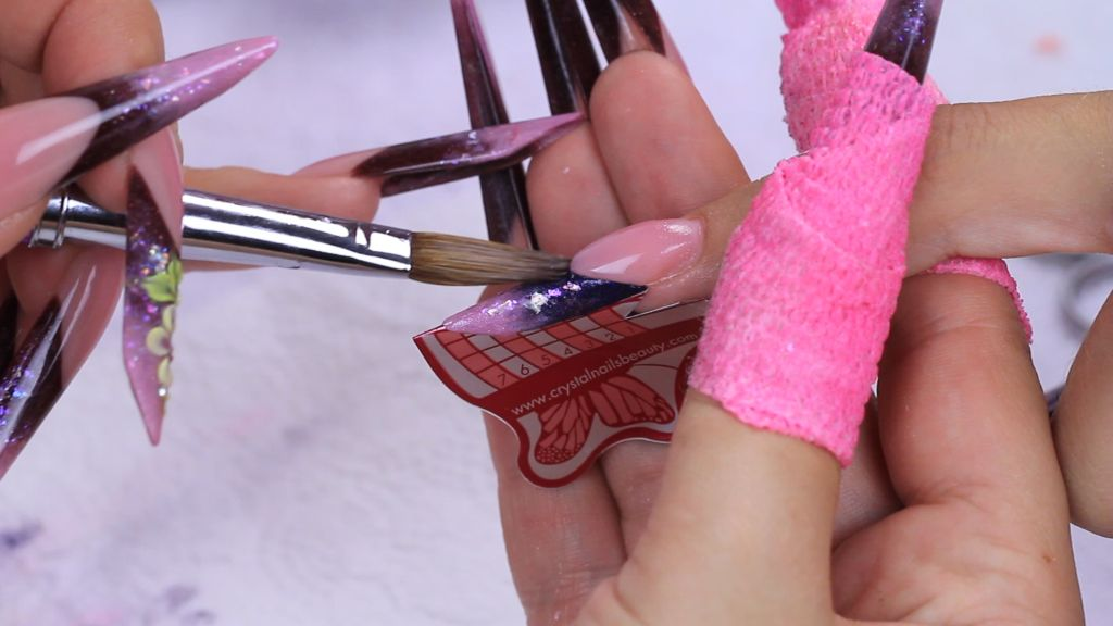Raise the nail bed part with the new Xtreme Pink Powder