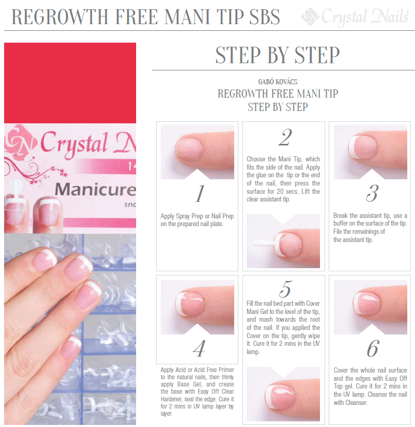 Step by step regrowth free mani tips prinsesfo Gallery