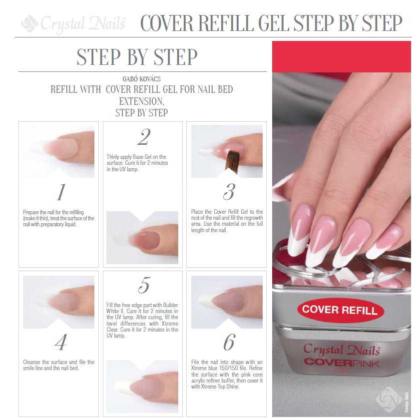How to do gel nail extensions step by step
