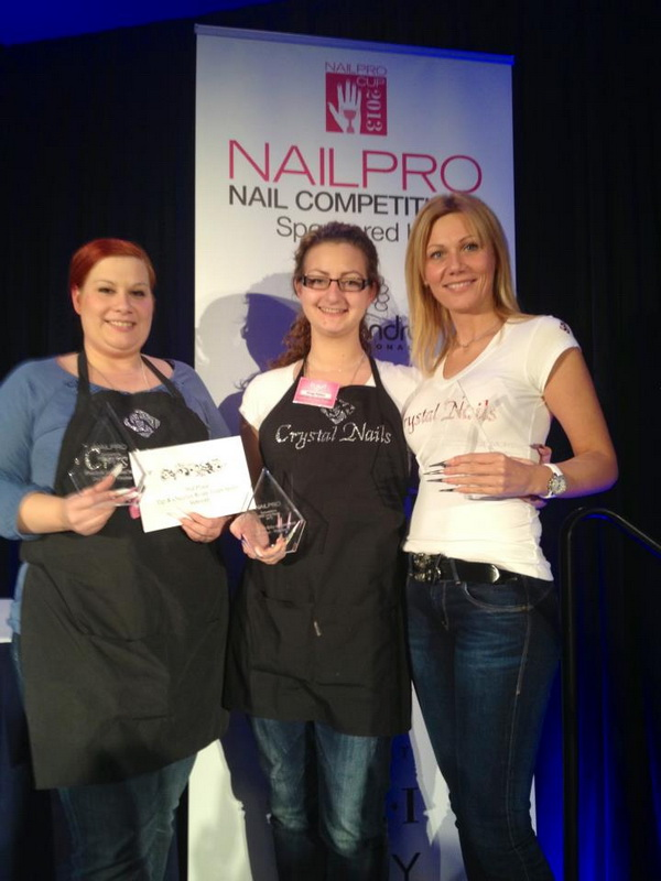Crystal Nails Team success in the USA