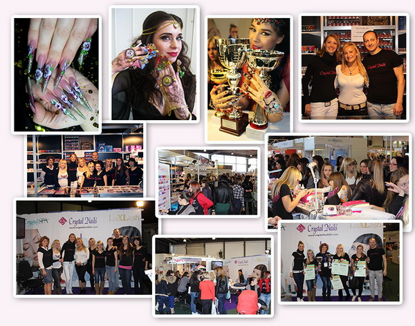 Crystal Nails Success in Zagreb