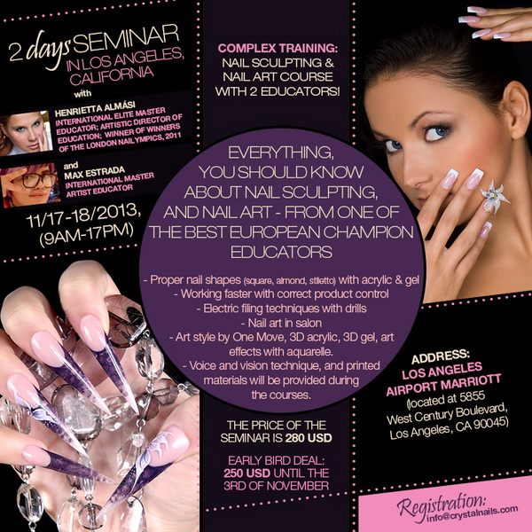 NAIL COURSE IN LOS ANGELES