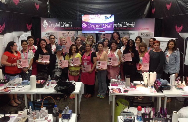 Report: Crystal Nails – BOOT CAMP 2014
