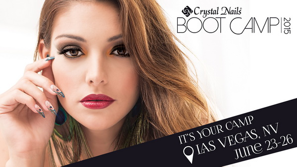 Crystal Nails BOOT CAMP 2015 - Las Vegas (June 23-26)