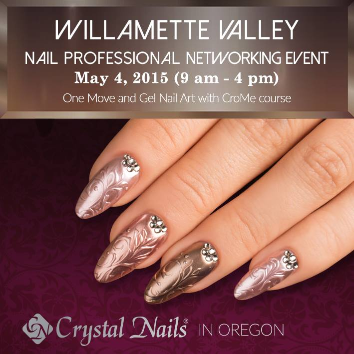 Monthly deal, Crystal Nails courses, Events 2015