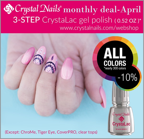 Crystal Nails Boot Camp 2015 - ENS - Monthly deal