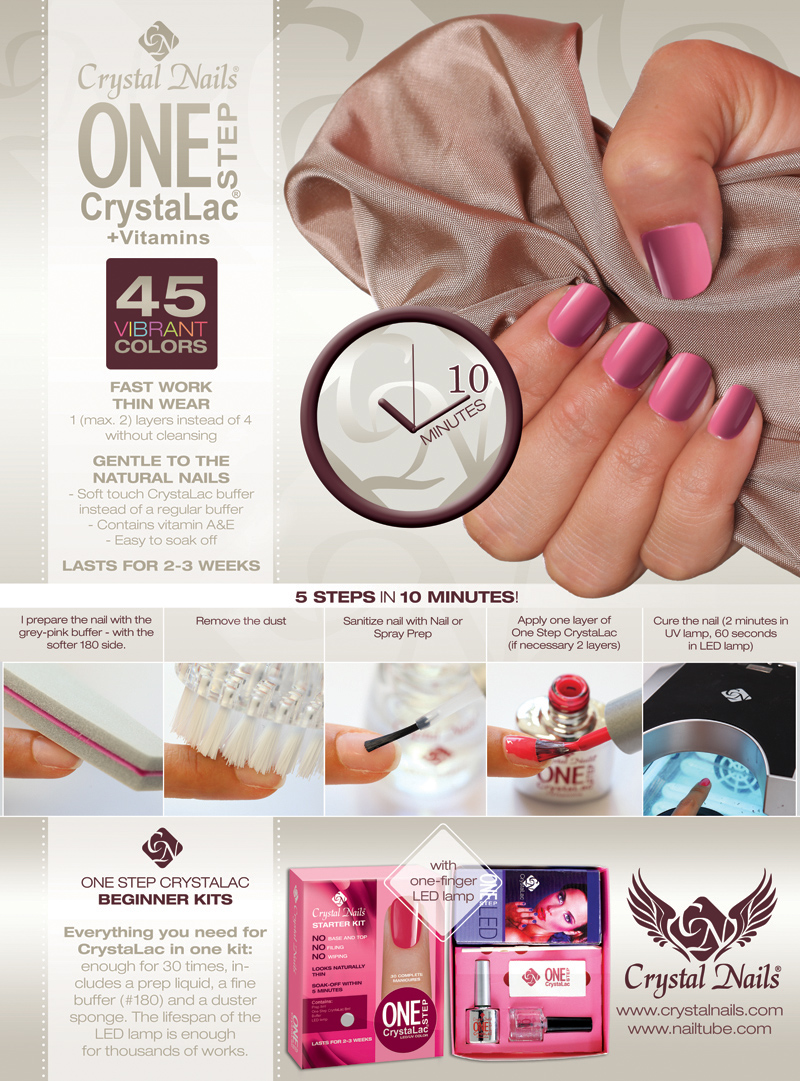 Crystal Nails newsletter