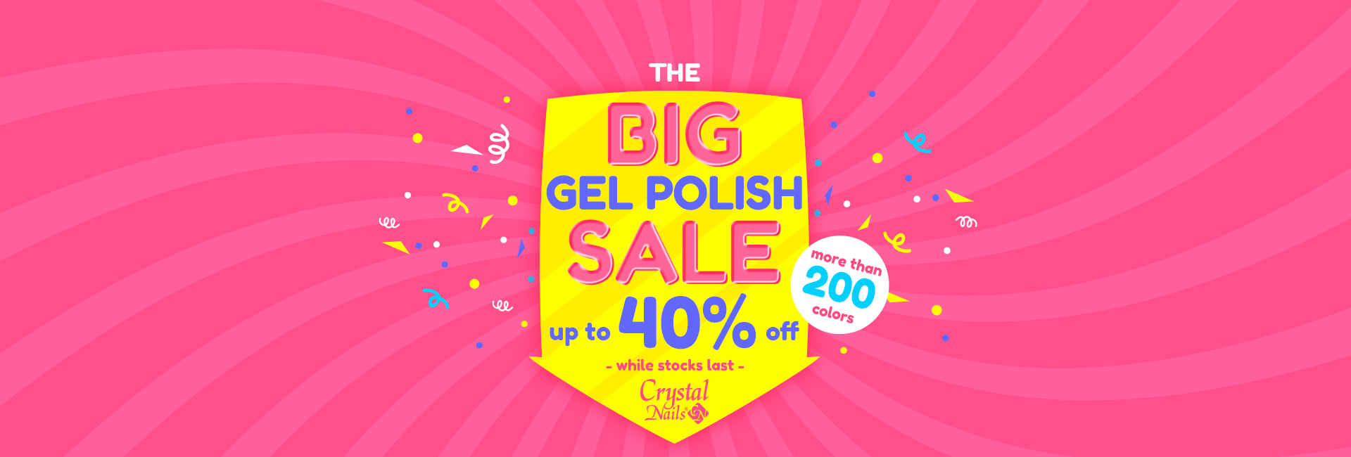 Big Gel Polish Sale