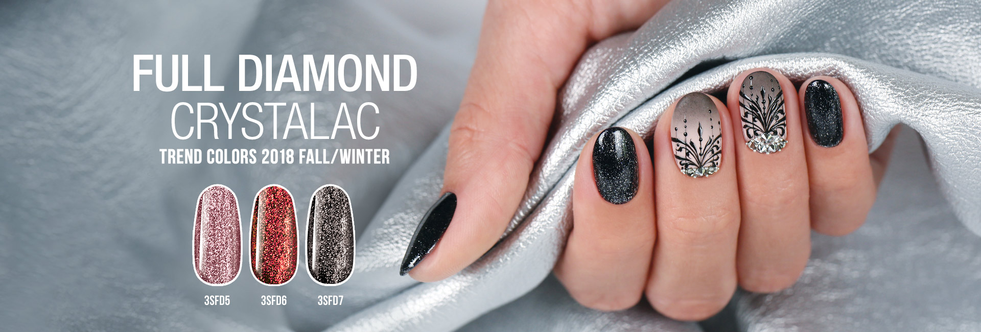 Full Diamond CrystaLac Trend Colors 2018 Autumn/Winter