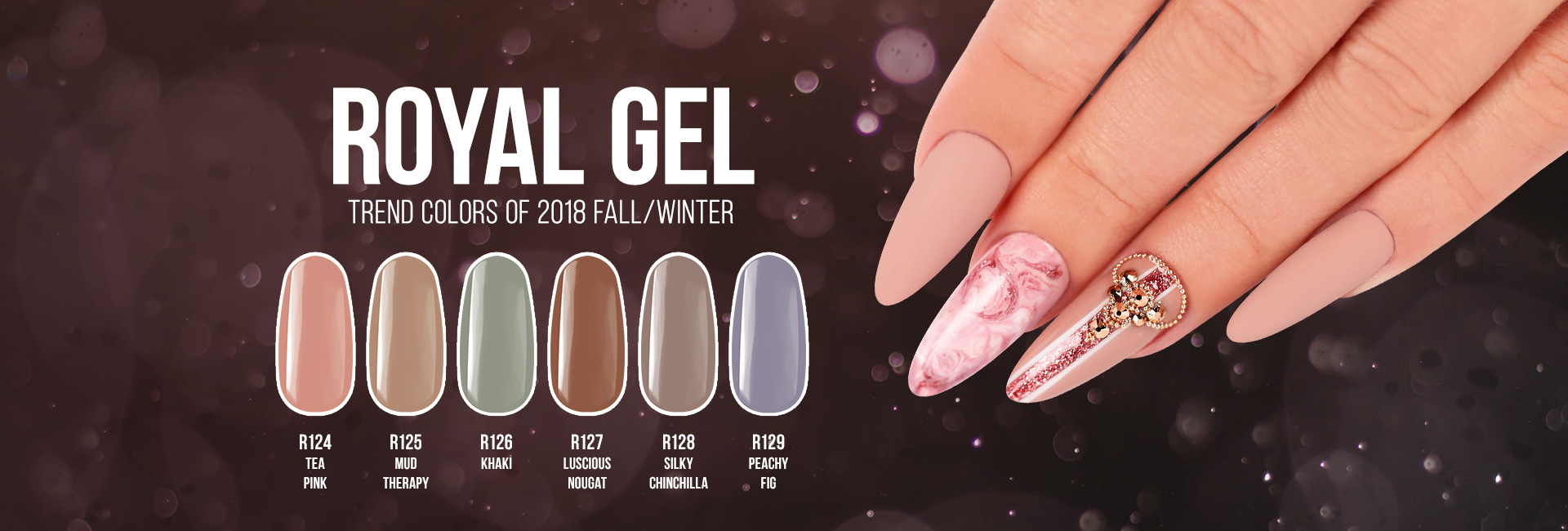 Royal Gel Trend Colors 2018 Autumn/Winter