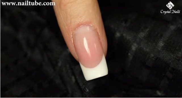 Gel Square nail shape