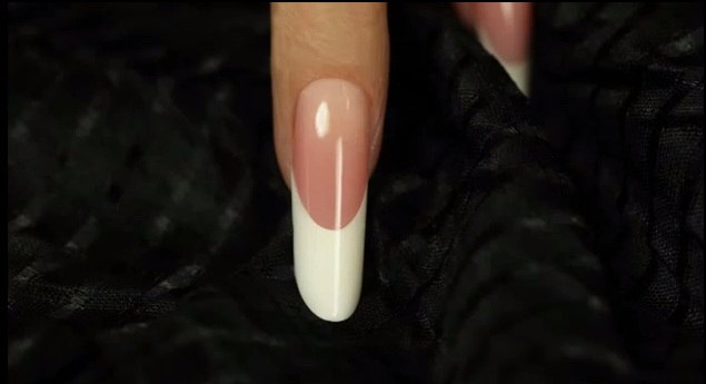 Gel Pipe nail shape